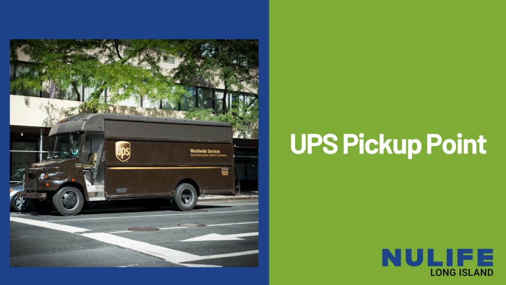 UPS Pickup Point